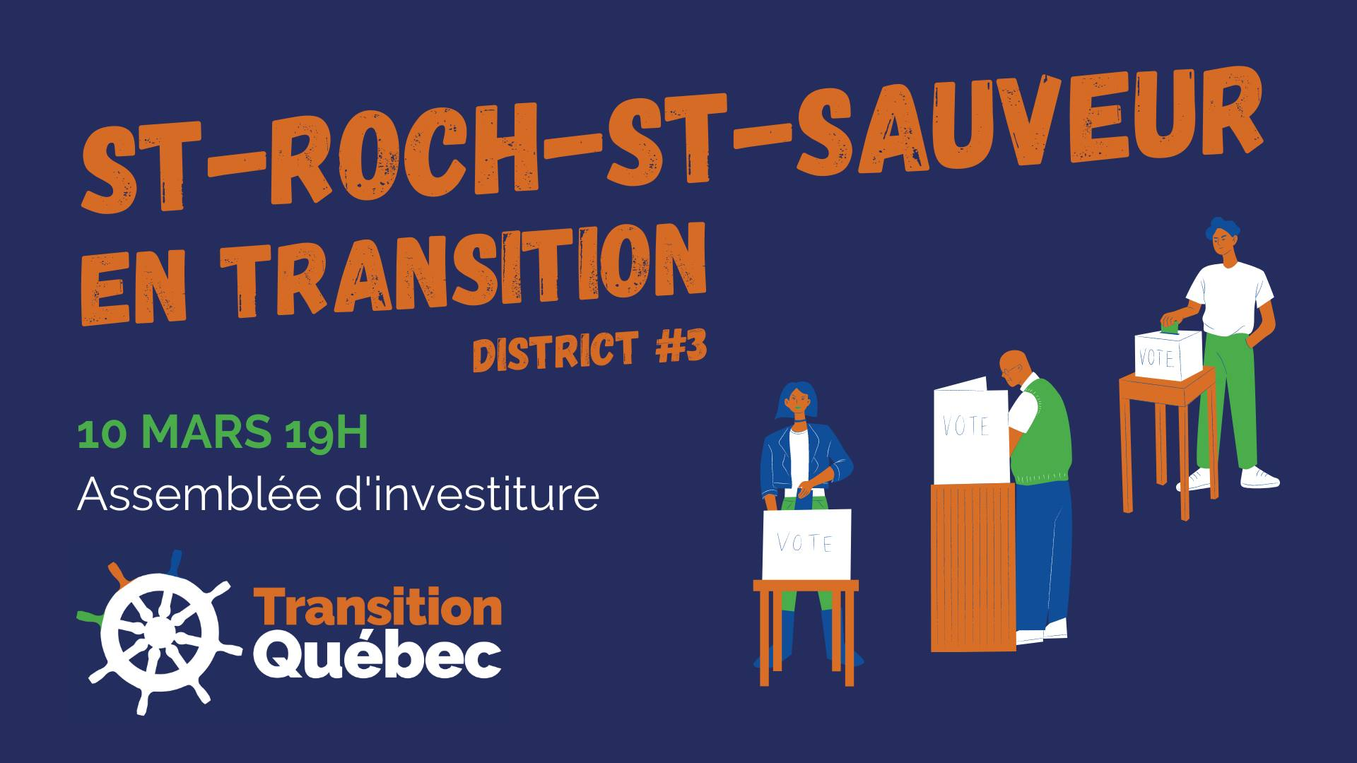 Investiture Saint-Roch